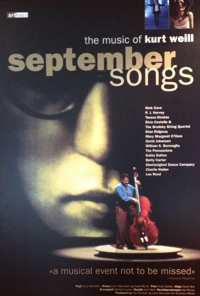 September Songs: The Music of Kurt Weill